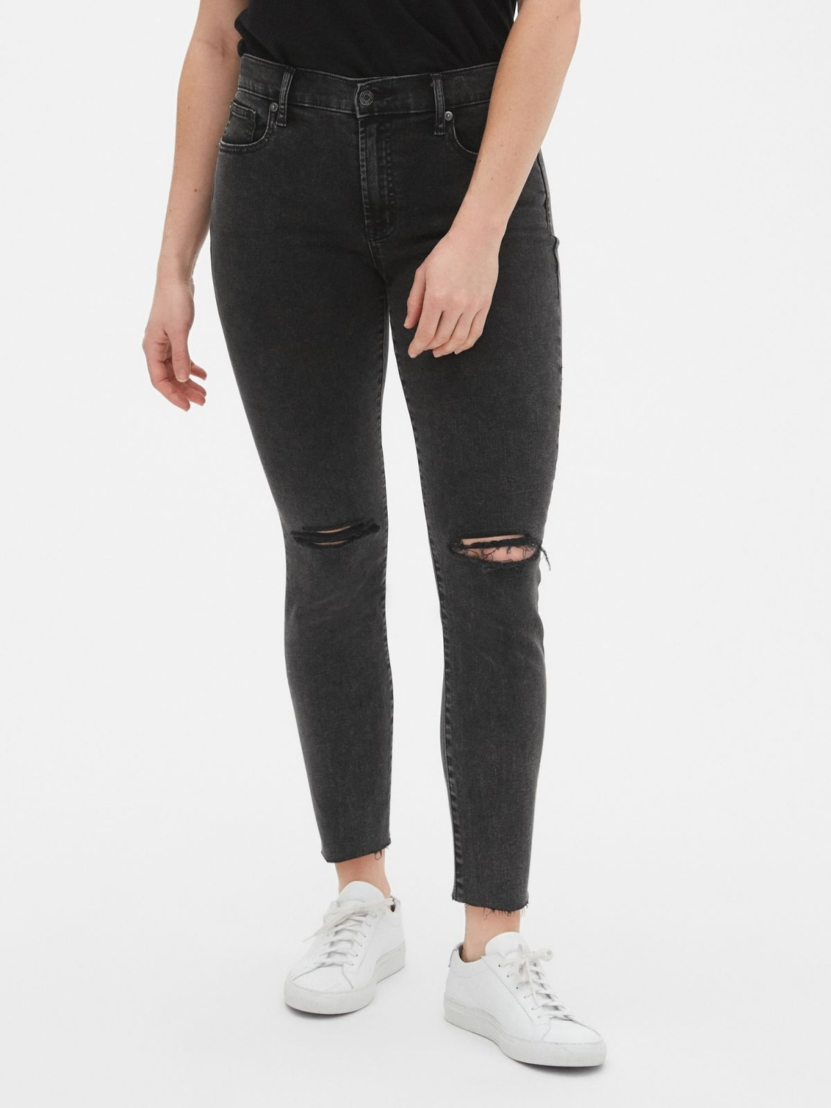 Mid Rise True Skinny Ankle Jean Παντελόνι